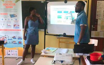 Sensibilisation sur la prévention des inondations en milieu scolaire
