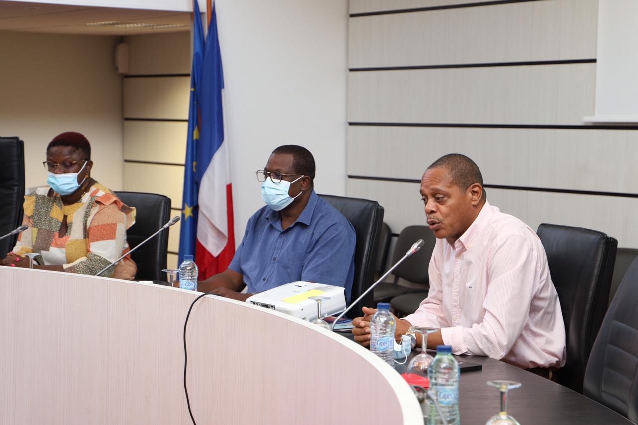 Photo des élus en charge du PAPI